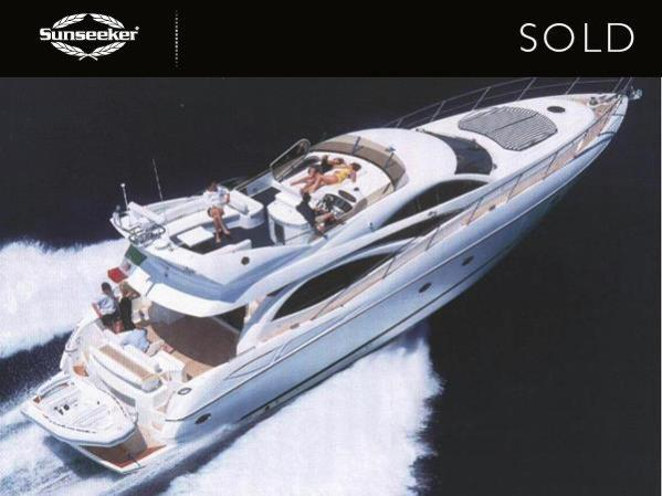 """Andrew Thomas confirmed the sale of the Sunseeker Manhattan 64 """"RADIO DAYS III"""" in December"""