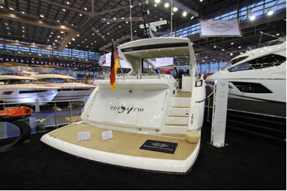Sunseeker Hellas at Boot Dusseldörf 2015