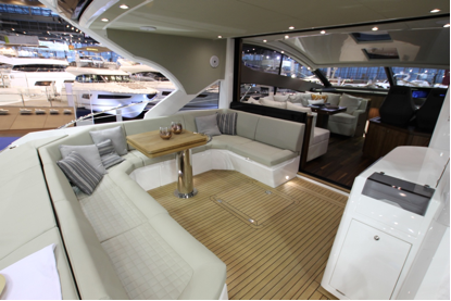 Sunseeker Hellas at Boot Dusseldörf 2015: Predator 57