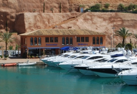 Refurbishment works have started on the Sunseeker Mallorca office in Port Adriano, which are scheduled for completion in June