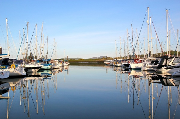Pwllheli Marina is home to the 2015 All Wales Boat Show