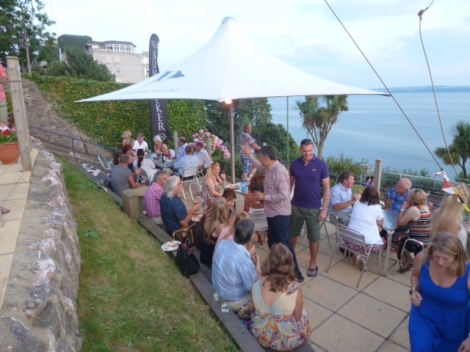With stunning views out to sea, the Royal Torbay Yacht Club was a beautiful setting for the event