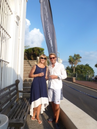 Sales Director Tom Wills was delighted to represent Sunseeker Torquay at the MDL Summer Party