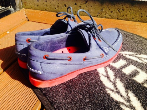 Sunseeker Torquay have been trialling Chatham's deck shoes in and around the marin