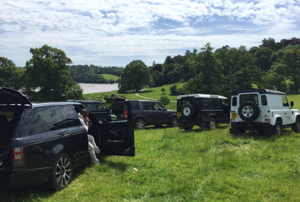 The sun shone and temperatures were well in the 20s at the fantastic day's shooting with Sunseeker Torquay, The Gun Room and St James Place Wealth Management