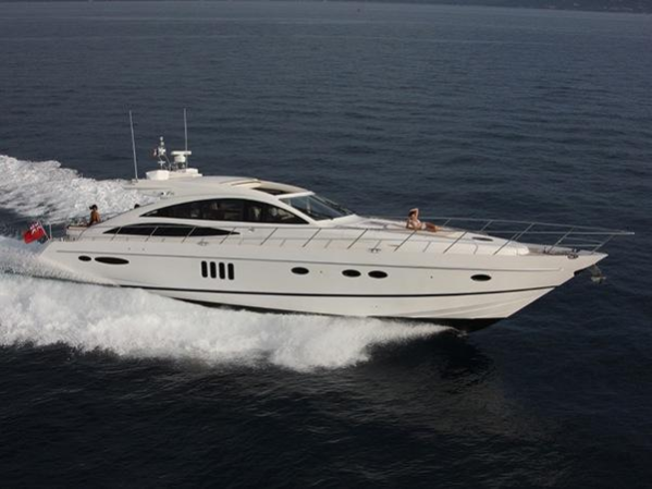 """Sunseeker Cannes have listed the Princess V70 """"COCO"""", asking €815,000 Tax Paid"""