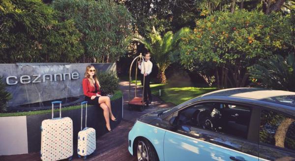 SLEEP: Cézanne Hotel & Spa ****, 40 Boulevard d'Alsace, 06400 Cannes