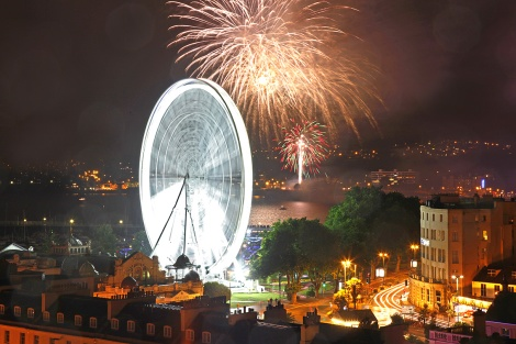Sunseeker Torquay clients enjoyed the annual fireworks display over the Bank Holiday weekend
