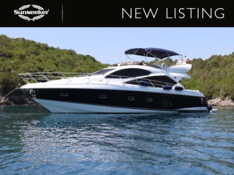 """New Listing: The Sunseeker Manhattan 60 """"SARP"""" is in excellent condition, lying in Turkey"""