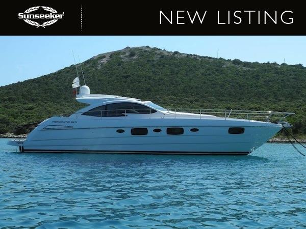 """Sunseeker France have listed the Pershing 50.1 """"SEA BISCUIT IV"""" for sale"""
