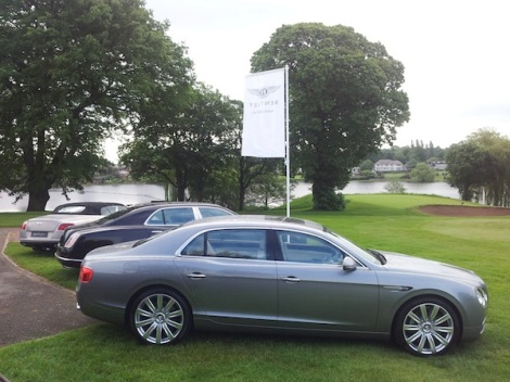 Sunseeker Cheshire, Bentley Manchester and The Cheshire Community Foundation partnered for the annual Bentley Manchester Golf Event this June