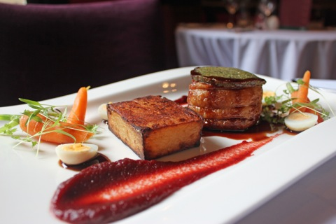 Food at the The Belle Epoque is sources locally and lovingly crafted