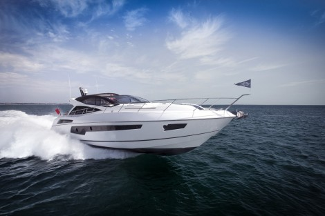 The highly popular Predator 68, famed for its style and performance - the model could reach 45 knots with Arnesons - is also on display at the show