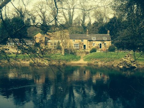 The Boat Inn is located along the River Dee in Wales, and offers a gloriously calm and tranquil setting to enjoy a local drink