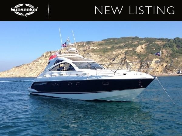 This Fairline Targa 47 is just one of Sunseeker Southampton's new brokerage listings this month