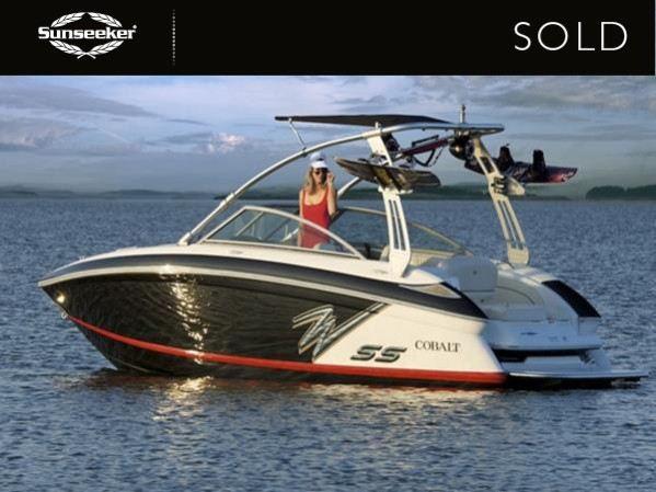 Sunseeker Mallorca sold this Cobalt 232 WSS at Christmas