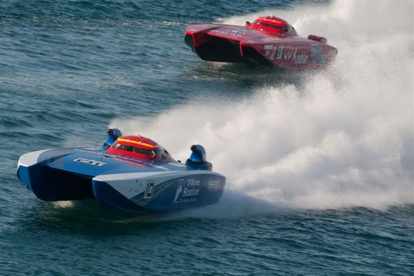 The Class-1 powerboat Grand Prix is a world known extreme sporting event, promising high speeds, drama and ground breaking technology