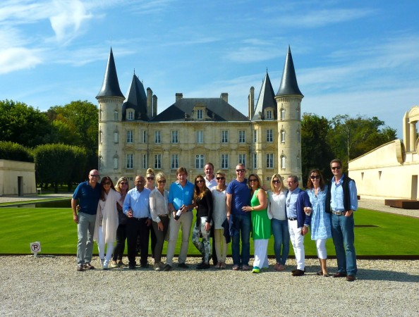 The PAH Breast Cancer Clinical Trials organised a fundraising trip to the wine regions of France - The Bordeaux Experience