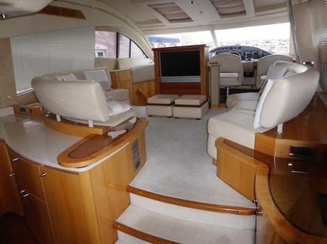 """""""NIENTE DA FARE"""" is a well-cared for and well-maintained example of the Sealine T60"""