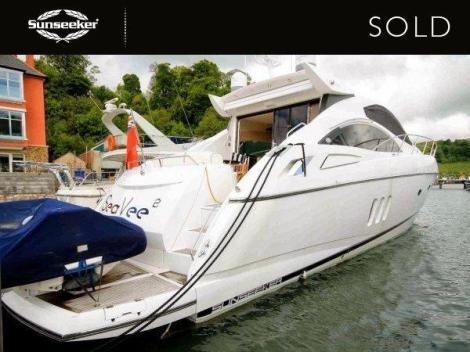 """The Sunseeker Predator 62 """"SEA VEE 2"""" was sold by Sunseeker Torquay and Sunseeker Channel Islands"""
