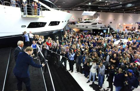 London Boat Show proved a very busy event for Sunseeker