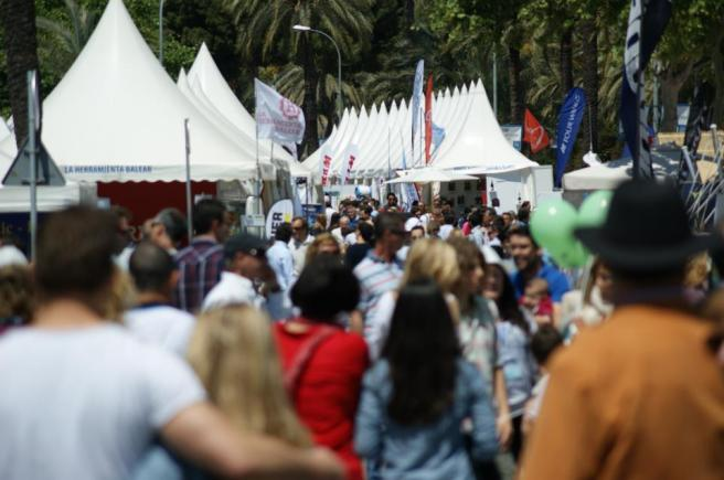 The Palma Boat Show will be held at Moll Vell form April 30th to May 4th