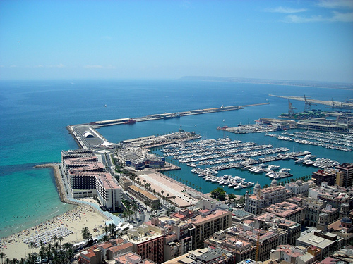 Alicante is an increasingly popular yachting destination in mainland Spain