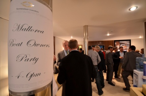 Sunseeker Mallorca hosted an exclusive party for Mallorca Boat Owners at the London Boat Show