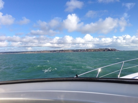 Taking advantage of a window of good weather, Sunseeker Torquay delivered the Predator 62 to Jersey, Channel Islands