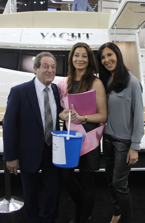 A Sunseeker London Family: David Lewis, Victoria Gerlis and Alexis Lewis support The Princess Alexandra Hospital Charitable Trust