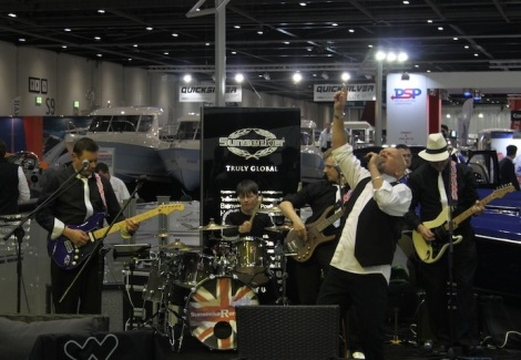 The Sunseeker Renegades made their debut at the London Boat Show