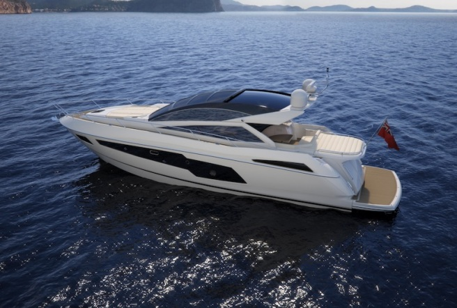 The Sunseeker Predator 57 is a brand new model for 2014