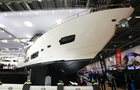 The Sunseeker 28 Metre Yacht proved a popular choice amongst clients at the London Boat Show