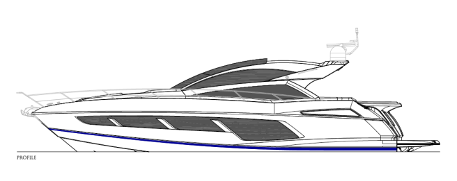 Fine lines and sleek glazing: The Sunseeker Predator 57 is an undeniable head-turner