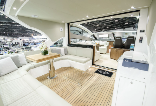 The Sunseeker Predator 57 was recently launched at the London Boat Show
