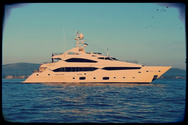 """The Sunseeker 40 Metre Yacht """"SEA RAIDER V"""" is announced as a finalist for the World Superyacht Awards 2014"""