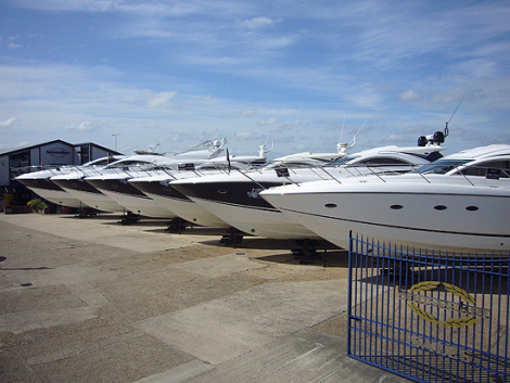 Sunseeker Poole will host the Sunseeker Pre-Season Boat Show from 14th to 16th March 2014