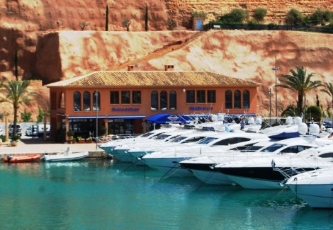 Sunseeker Mallorca enjoys a strong presence on the island, with 2 premises between Port Adriano (pictured) and Portals