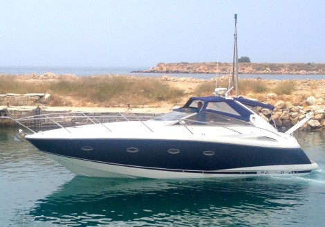 Exemplary 'added value service' with delivery of Portofino 35 by Sunseeker Hellas