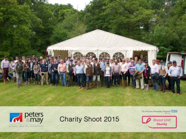 #ADayForPink: Peters and May raise £20,000 for Breast Cancer Clinical Trials