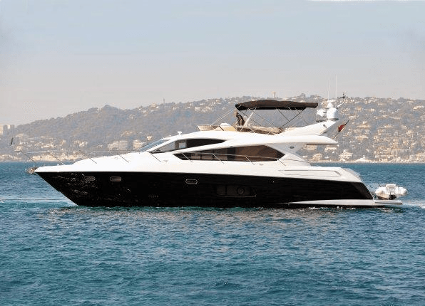 """Sunseeker Manhattan 63 """"MAKO"""" has made the voyage from the Mediterranean to North Wales following her sale by Sunseeker Cheshire"""