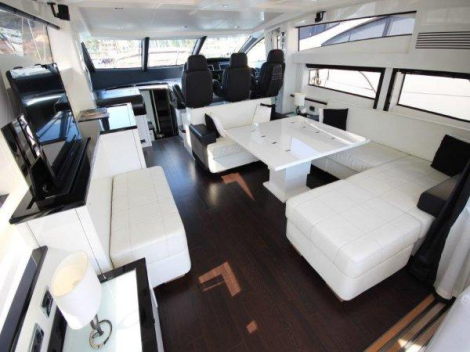 "Fitted out with a modern lacquer interior, ""STAR OF SEVEN SEAS"" is one of the most spectacular 74s to come out of the shipyard"