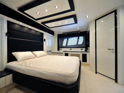 Accommodation on board is spacious, with the 4 cabin layout option welcoming up to 8 guests