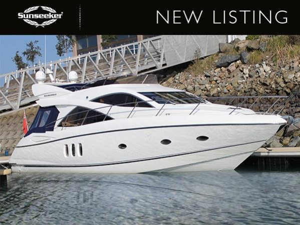 "Sunseeker Manhattan 50 ""MANANNAN"" listed by Sunseeker Channel Islands"