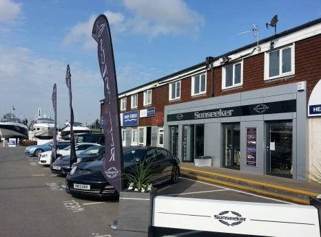 Swanwick Marina is home to Sunseeker Southampton, part of the Sunseeker London Group of companies