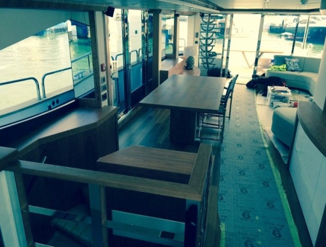The Ibiza bound 28 Metre Yacht is nearing completion, ahead of her delivery in May