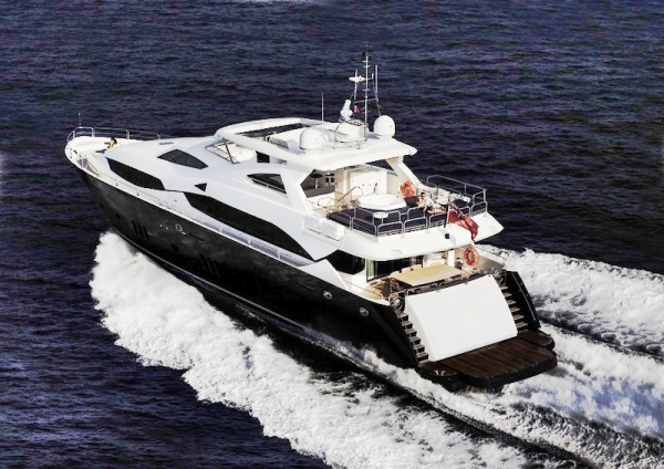 Sunseeker models such as the 34 Metre Yacht are in demand ahead of the summer season