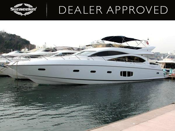 "Dealer Approved Sunseeker Manhattan 70 ""ZARIF II"" will also be at the Istanbul show from 30th April to 4th - May"