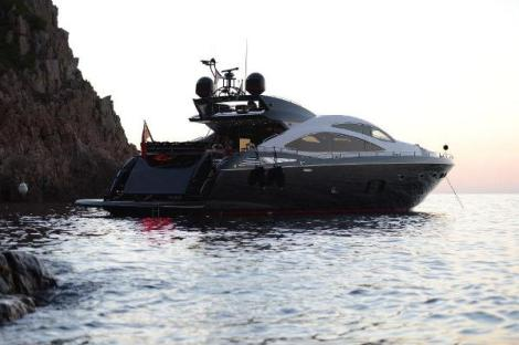 This iconic Sunseeker Predator 84 turned many heads at previous boat shows and is set to draw visitors to Antibes Yacht Show