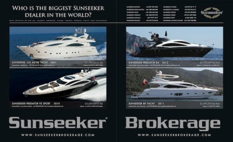 Sunseeker Brokerage, the pre-owned division for the Sunseeker London Group, is the largest used Sunseeker dealer in the World
